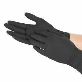 Rękawiczki nitrylowe do prac serwisowych - rozmiar S