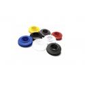Oczka plastikowe 12mm zatrzaskowe, kolor - 1 szt.