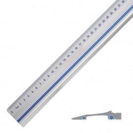 Linijka aluminiowa 50cm - do docinania wydruków