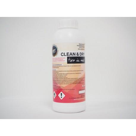 CLEAN & DRY 1L - płyn do aplikacji folii na sucho