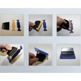 YelloWings Micro Slim nakładki do rakli z mikrofibry