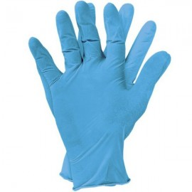 Rękawiczki nitrylowe do prac serwisowych - rozmiar XL