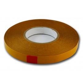 Taśma do banerów 19mm/50m (brązowy podkład)